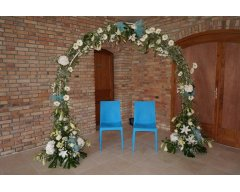 arche decoration florale