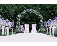arche florale exty rieure bleu