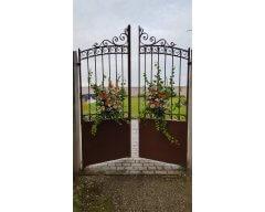 decoration exterieure portail