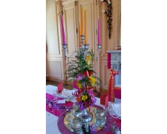 decoration table chandelier bollywood