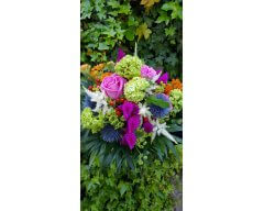 BOUQUET MARIEE FORME CHAMPETRE