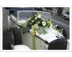Mariage décoration véhicule